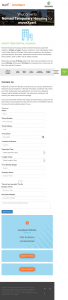 A Responsive Angular Landing Page